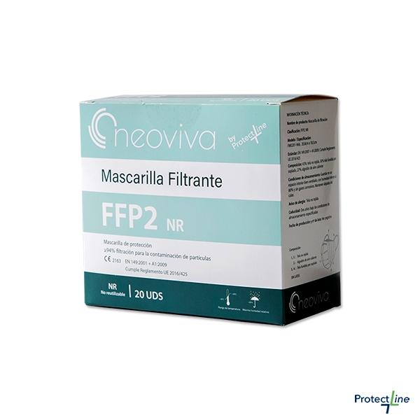 mascarilla ffp2 nr Neoviva de Protect Line