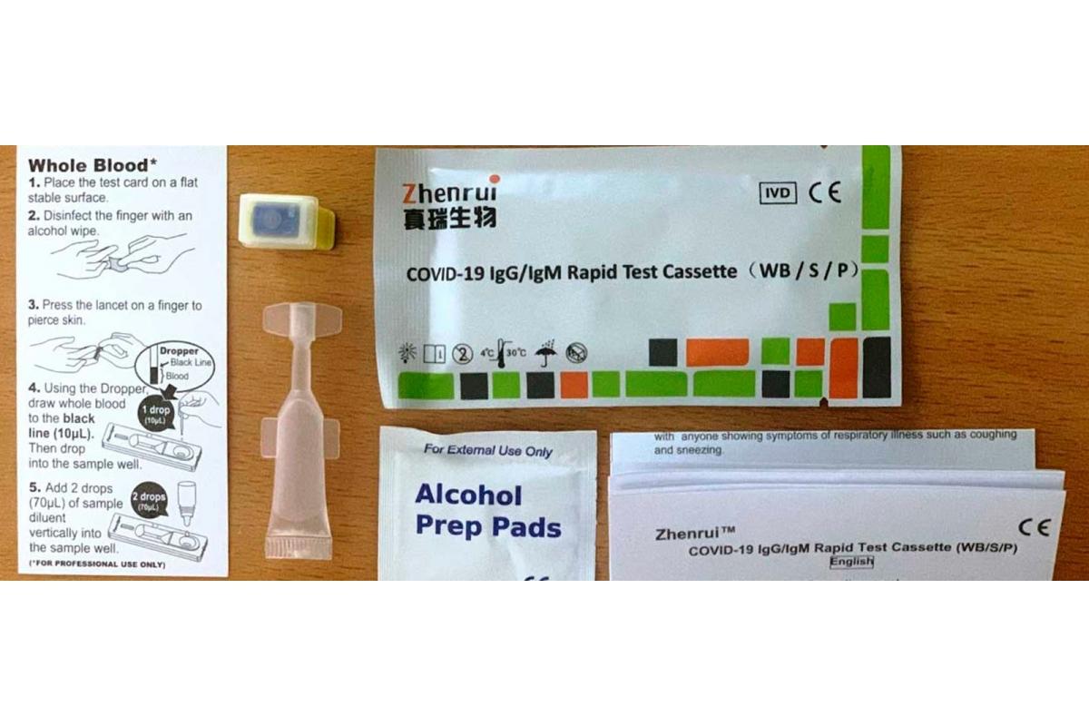 Llega a las farmacias españolas un test rápido COVID 19